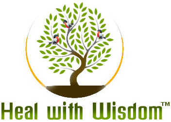 Heal  With Wisdom Logo